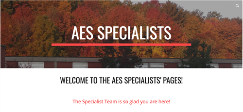 Specialists Site